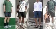 夏日男生穿短裤的4个错误不要犯,不然不仅娘还丑!